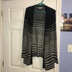 lose knit cardigan